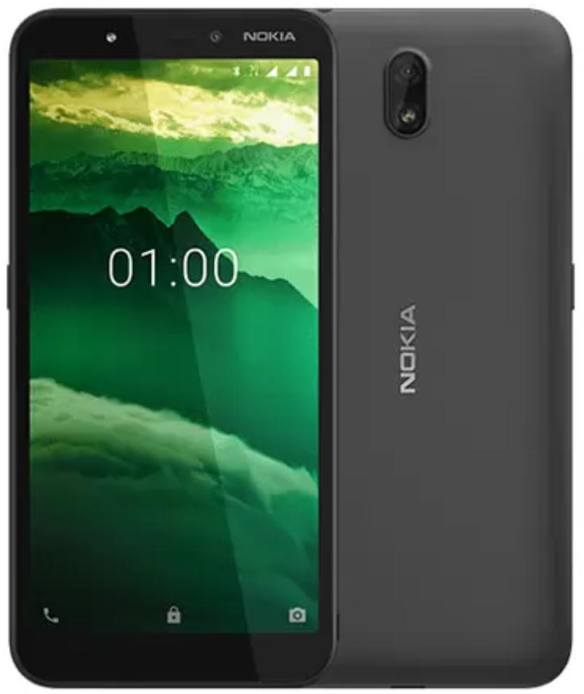 Nokia C1 Dual Sim 16GB Black (1GB RAM)