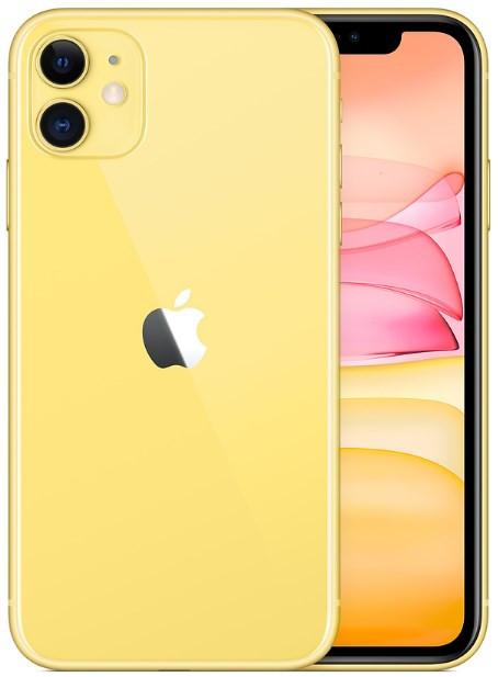 Apple iPhone 11 A2223 Dual Sim 256GB Yellow