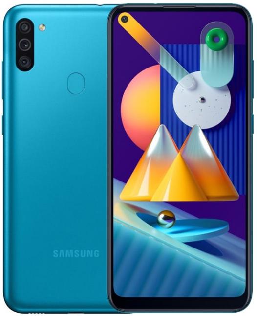 Samsung Galaxy M11 Dual Sim M115FD 32GB Blue (3GB RAM)