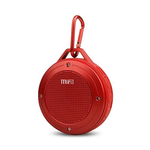 mifa IXP6 Waterproof Mini Portable Bass Wireless Bluetooth Speaker (red)