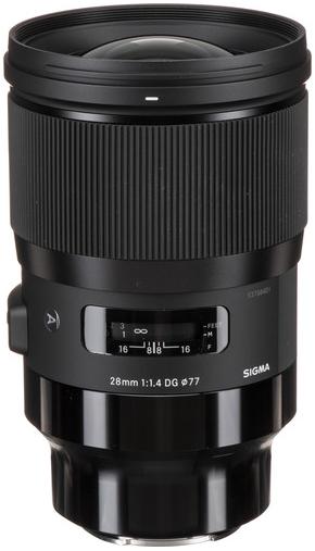 Sigma 28mm F1.4 DG HSM   Art (Sony E)