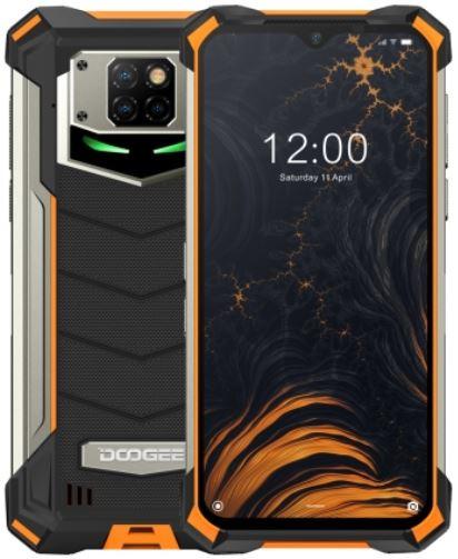 DOOGEE S88 Plus Dual Sim Rugged Phone 128GB Orange (8GB RAM)