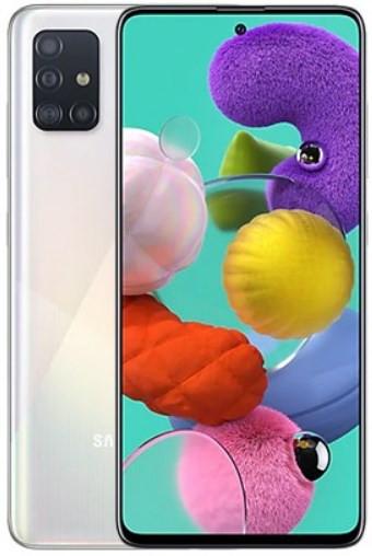 Samsung Galaxy A51 Dual A515FD 128GB White (6GB RAM)