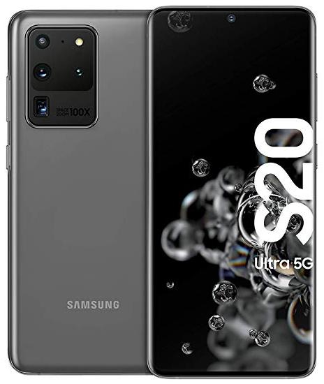 Samsung Galaxy S20 Ultra 5G Dual Sim G988FD 128GB Grey (12GB RAM)