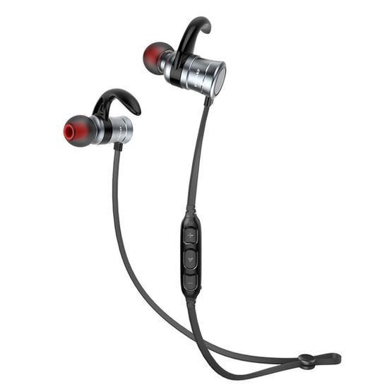 AWEI AK5 Sports Waterproof Wireless Bluetooth In-ear Headphone with Mic (Blue)