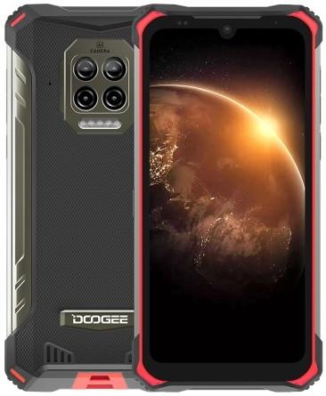 DOOGEE S86 Dual Sim Rugged Phone 128GB Red (6GB RAM)