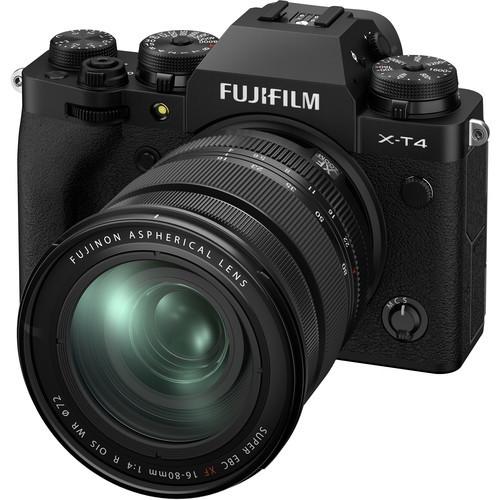 Fujifilm X-T4 16-80 Black (Kit Box)