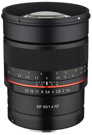 Samyang MF 85mm F1.4 RF (Canon RF)