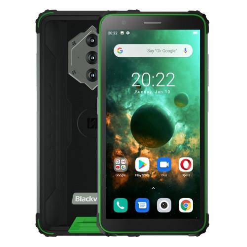 Blackview BV6600 Dual Sim Rugged Phone 64GB Green (4GB RAM)