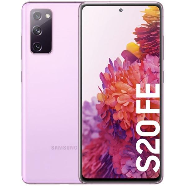 Samsung Galaxy S20 FE 4G Dual Sim G780FD 128GB Lavender (6GB RAM)
