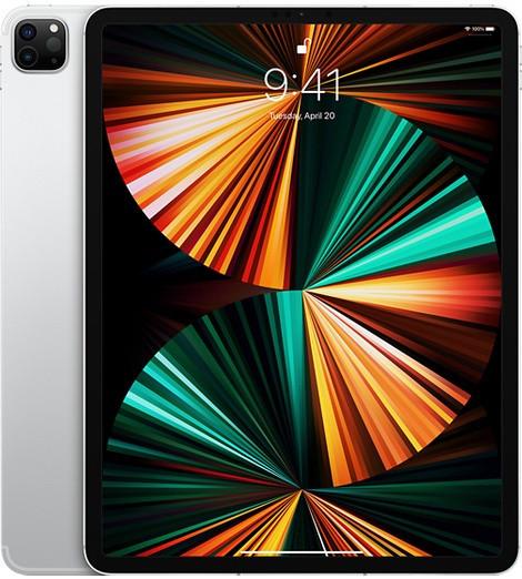 """Apple iPad Pro 12.9"""" (2021) Wifi 128GB Silver (8GB RAM)"""