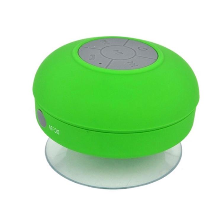 Mini Portable Subwoofer Shower Wireless Waterproof Bluetooth Speaker (Green)