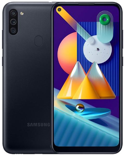Samsung Galaxy M11 Dual Sim M115FD 32GB Black (3GB RAM)