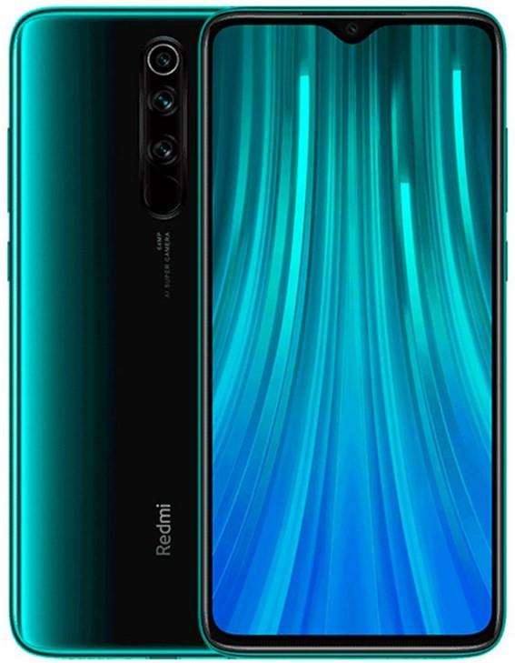 Xiaomi Redmi Note 8 Pro Dual Sim 64GB Green (6GB RAM) - Global