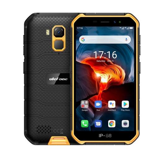Ulefone Armor X7 Pro Rugged Phone Dual Sim 32GB Yellow (4GB RAM)