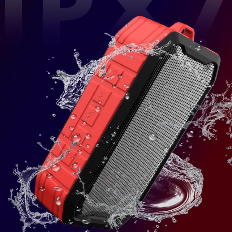 M3 Wireless Bluetooth Speakers Waterproof Portable Outdoor Loudspeaker Mini Box Speaker (Red)