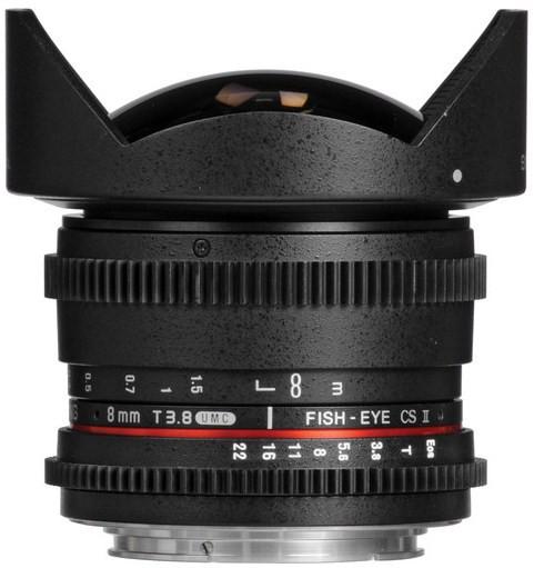 Samyang 8mm T3.8 Asph IF MC Fisheye CS II (Canon)