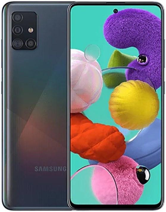 Samsung Galaxy A51 Dual A515FD 128GB Black (6GB RAM)