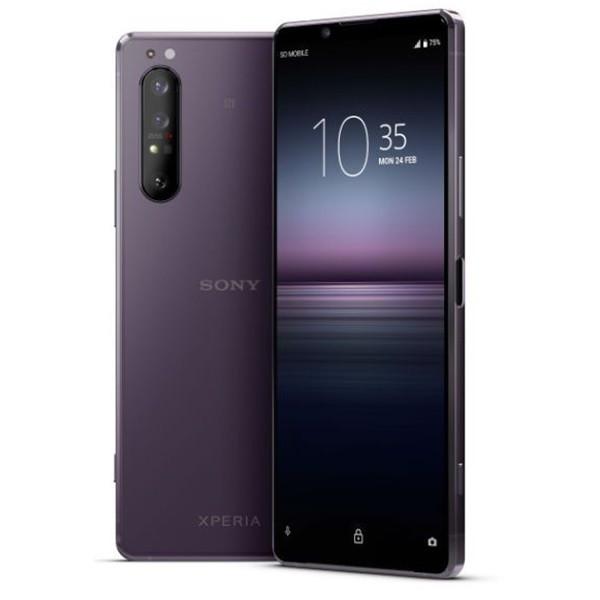 Sony Xperia 1 II 5G XQ-AT52 Dual Sim 256GB Purple (8GB RAM) + FREE Sony Xperia 1 II Phone Cover With Stand (Purple)