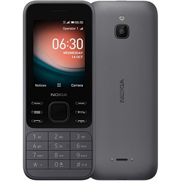 Nokia 6300 4G Dual Sim 4GB Charcoal (512MB RAM)