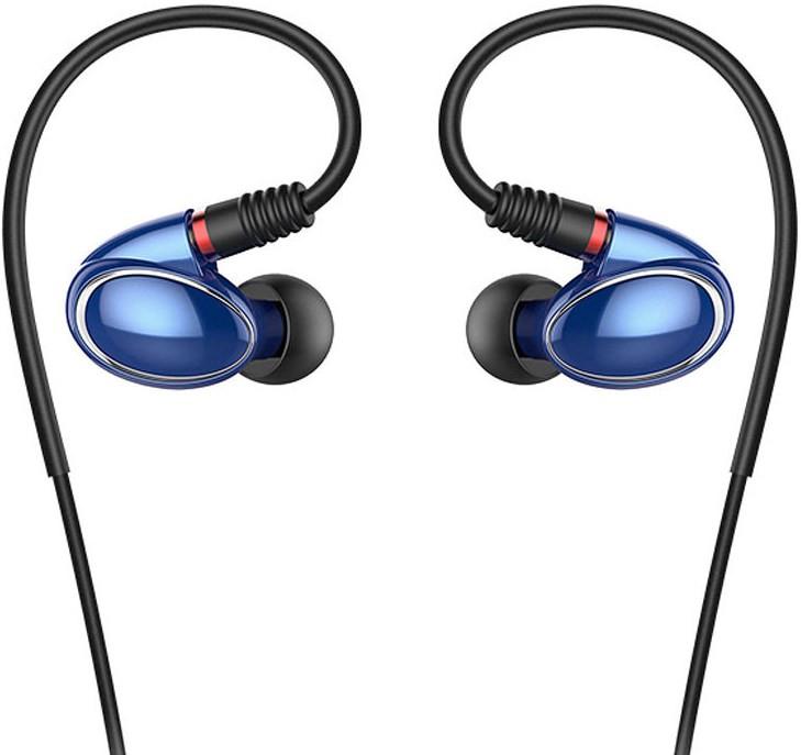 FiiO FH1 Hi-Res Earphone with Microphone Blue