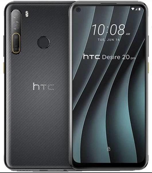 HTC Desire 20 Pro Dual Sim 128GB Black (6GB RAM)