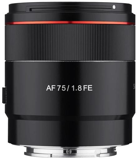 Samyang AF 75mm F1.8 FE (Sony E)
