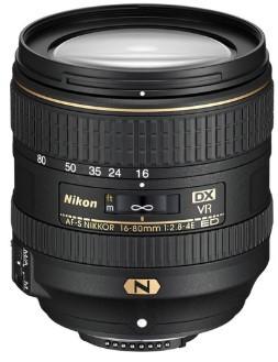 Nikon AF-S NIKKOR 16-80mm F2.8-4E ED VR (W.box)