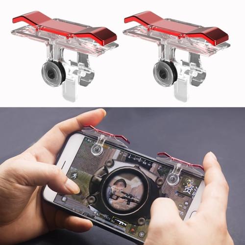E9 Electroplating Design Press Eat Chicken Mobile Phone Trigger Shooting Controller Button Handle