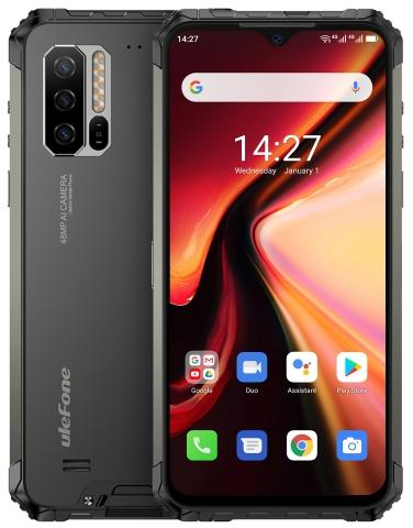 Ulefone Armor 7 Rugged Phone Dual Sim 128GB Black (8GB RAM)