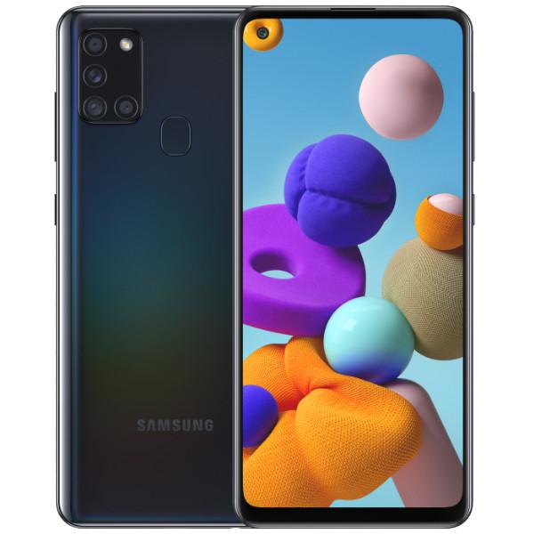 Samsung Galaxy A21S Dual Sim A217FD 64GB Black (4GB RAM)