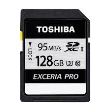 TOSHIBA 128GB SDXC <Exceria U3> 95MB/s