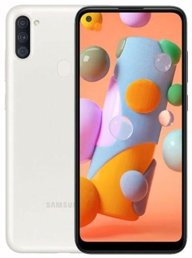 Samsung Galaxy A11 Dual Sim A115FD 32GB White (3GB RAM)