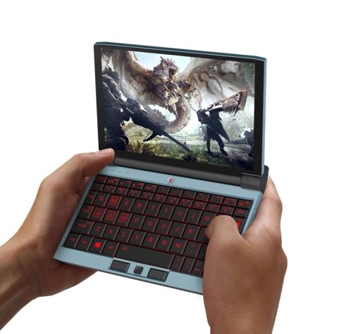 "One-GX Wifi 7.0"" Gaming Laptop 512GB Baby Blue (16GB RAM)"