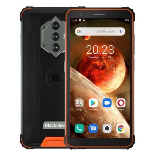 Blackview BV6600 Dual Sim Rugged Phone 64GB Orange (4GB RAM)