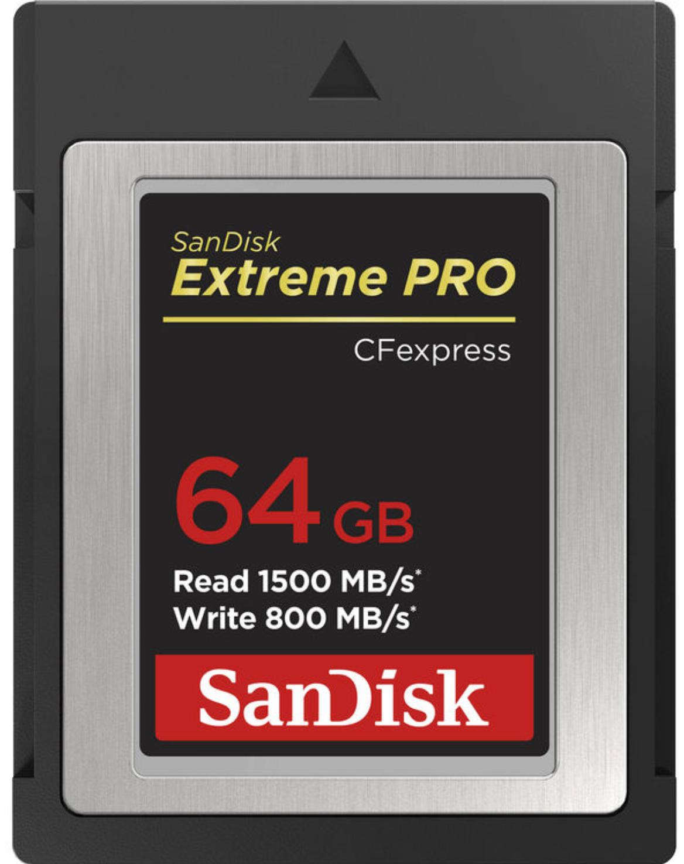 Sandisk 64GB Extreme Pro CFexpress Type B