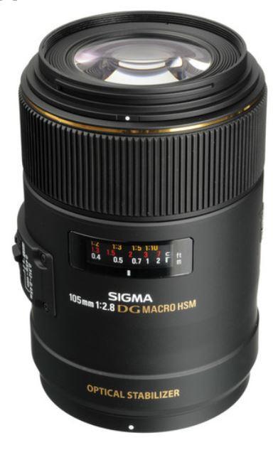 Sigma MACRO 105mm F2.8 EX DG OS HSM (Nikon)