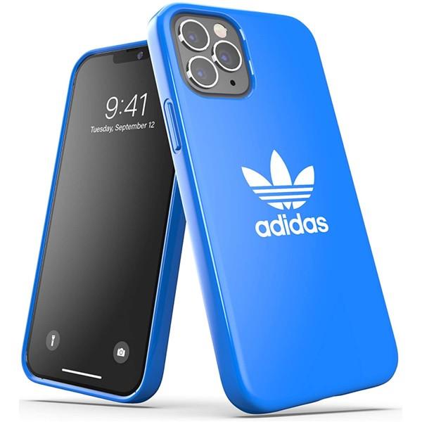 Adidas Trefoil Snap Case for iPhone 12 | 12 Pro Bluebird