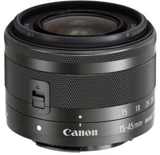 Canon EF-M 15-45mm F3.5-6.3 IS STM Black (White box)