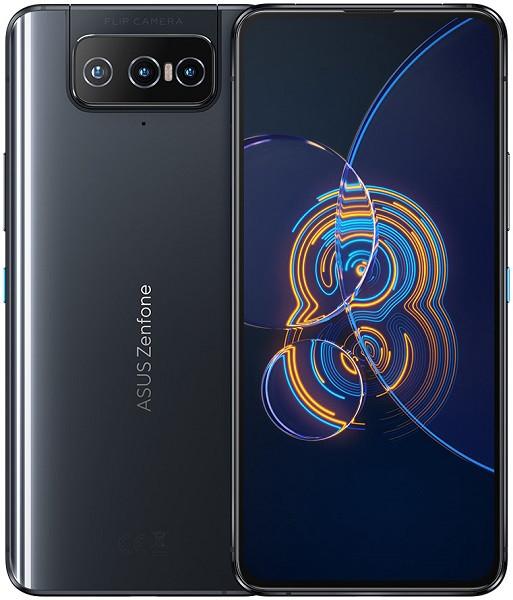 Asus ZenFone 8 Flip 5G Dual Sim ZS672KS 256GB Black (8GB RAM)