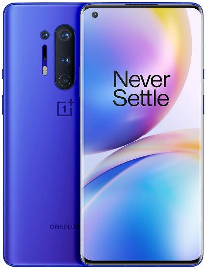 Oneplus 8 Pro 5G IN2023 Dual Sim 256GB Blue (12GB RAM)