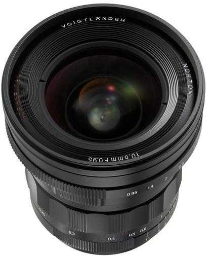 Voigtlander Nokton 10.5mm f/0.95 Aspherical (M3/4)