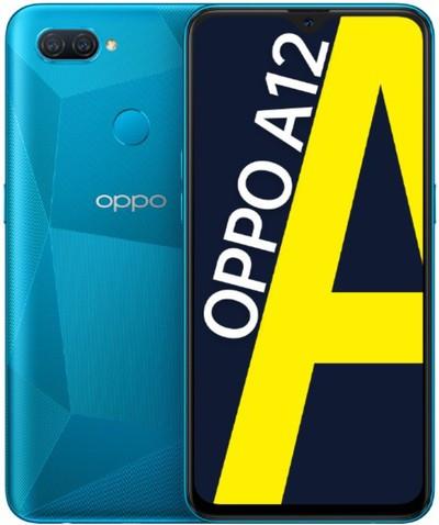 OPPO A12 Dual Sim 64GB Blue (4GB RAM)