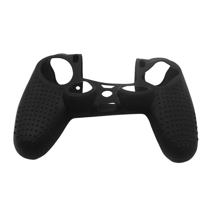 Non-slip Silicone Protective Case for Sony PS4 (Black)