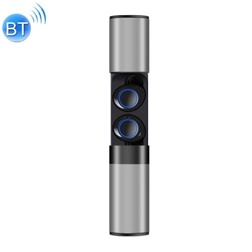 Drawer Type S2 Ear-in TWS Bluetooth V5.0 Wireless Earphones (Grey)
