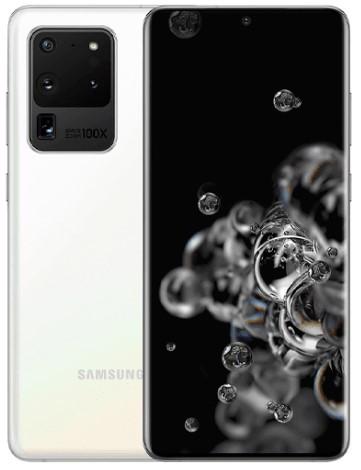 Samsung Galaxy S20 Ultra 5G Dual Sim G988B 128GB White (12GB RAM)