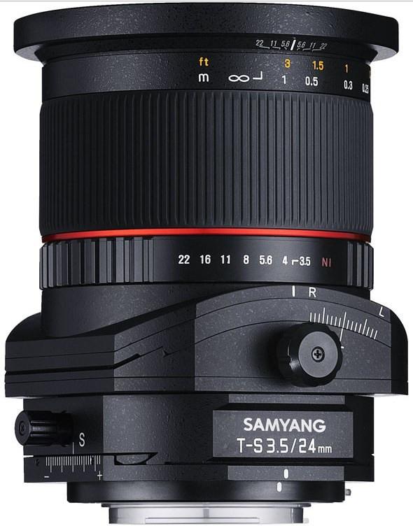 Samyang T-S 24mm f/3.5 ED AS UMC (Pentax)