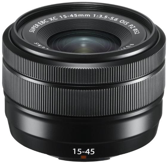 FUJINON XC15-45mm F3.5-5.6 OIS PZ Black (Retail)