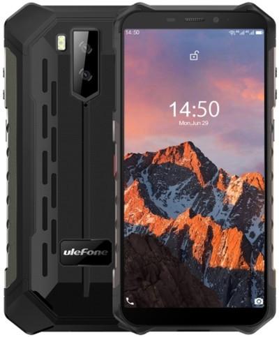 Ulefone Armor X5 Pro Rugged Phone Dual Sim 64GB Black (4GB RAM)
