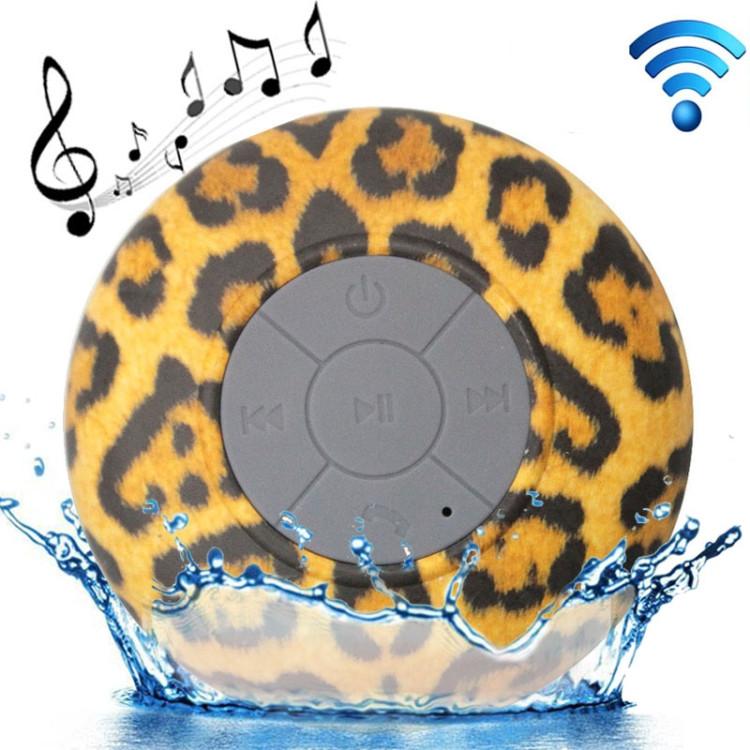 Leopard Pattern Mini Waterproof Bluetooth Speaker